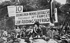 British suffrage photo