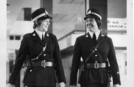 Female RCMP members 1975