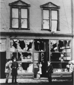 The aftermath of Vancouver's race riot, 1907