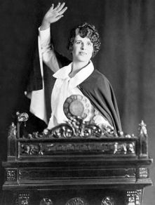 Aimee Semple McPherson Source: Foursquare Church International